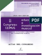 Sobre la investigación musical.