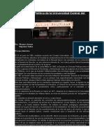 Saltos y Jácome_La Carrera de Política de La Universidad Central Del Ecuador