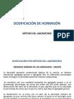 DOSIFICACIÓN POR MÉTODO DEL LABORATORIO 2