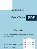 Antibiotics Presentation