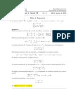 Corrección Examen Final de Cálculo III, 22 de marzo de 2016