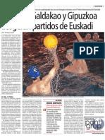 Euskal Herria Waterpolo jueves, 02 marzo 2006, página 33