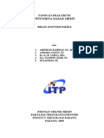 Diktat Praktikum FDM Konversi Energi