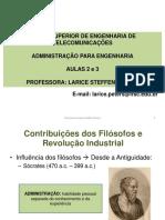 1 - Filósofos, Abordagem Clássica e Estruturalista