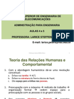 2 - Humanista e Comportamental