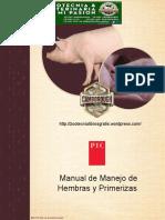 Manual Manejo de Cerdas y Primerizas
