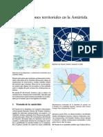 Reclamaciones Territoriales en La Antártida