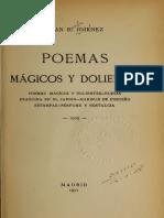 Juan Ramón Jiménez - Poemas mágicos y dolientes (Selección)