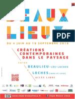 Dossier de Presse - Beaux Lieux 2016