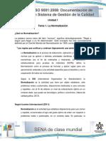 Tema 1 La Normalizacion