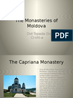 the monasteries of moldova