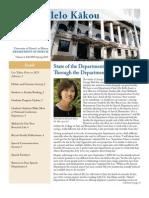Department of Speech Newsletter 2009