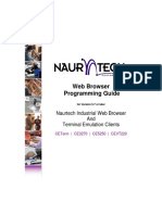 Naurtech Web Browser Prog Guide 57