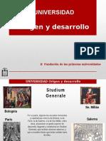 Historia de la Universidad (Primeras Universidades)