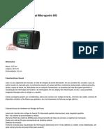DIMEP - Relógio de Ponto Digital Micropoint HS