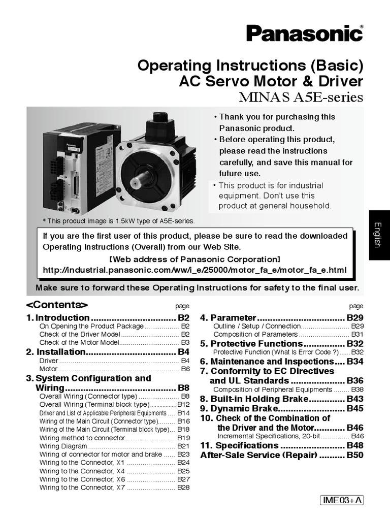 Panasonic Servo Drive Wiring Diagram Electrical Diagrams Cq Vd6503u Somurich Com Futaba Receiver