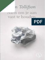 Joan Tollifson - Niets Om Je Aan Vast Te Houden