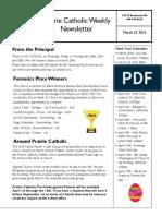 Newsletter 3 23 16