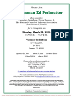 Reception for Ed Perlmutter