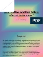 Rave and Club culturevPowerpoint