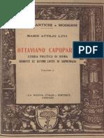 Ottaviano Capoparte - Levi