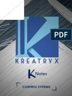 Control Systems K-Notes