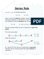 Signal Flow Graph Rules