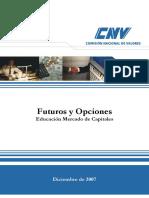 Comisión Nacional De Valores - Futuros y Opciones