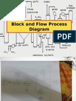 Block and Flow Process Diagram