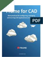 Frame for Cad