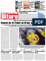 Koha Ditore, Frontpage, March, 3 2010