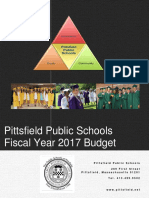 Pittsfield School Budget FY17
