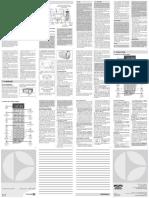 Manual Oficial microondas MEG41 Electrolux