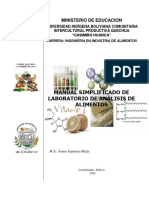 Manual Analisis de Alimentos