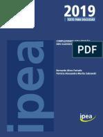 Complexidade Uma Revisão Dos Clássicos - IPEA