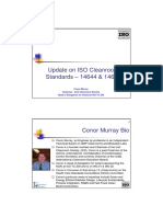 Update on ISO Cleanroom Standards 14644 Amp 14698