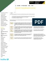 Non-Destructive Testing Mechanical (Overview)