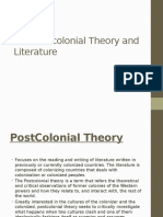 Postcolonial Theory and Litearature