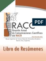 Libro de Reunion Anual de Comunicadores Cientificos -MACN-2013