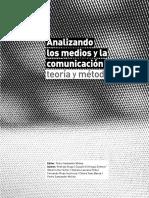 LIBRO SANTANDER Pe4dro Analizandolos Medios y La Comunicacion Teoria y Metodos