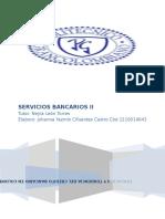Servicios Bancarios II Primera Entrega