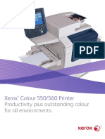 Xerox® Colour 550/560 Printer