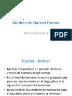 Modelo Harrod Domar (1)