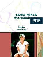 sania mirza in hot