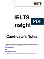IELTS Insight Notes