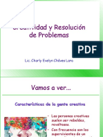 Creatividad Para Resolver Problemas - I