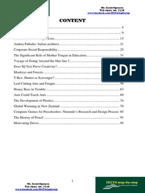 Authentic Reading Test Collections Volume 5 | Potato