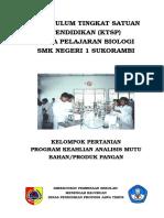 Cover Ktsp Pertanian