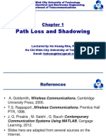 WCCH2015 1 PathLoss and Shadowing