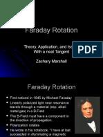 Zach Marshall Faraday Rotation